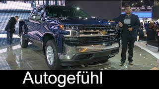 2019 Chevrolet Silverado REVIEW all-new - NAIAS 2018 - Autogefühl