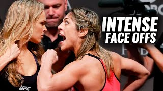 10 of the Most Intense UFC Weigh-In Face Offs