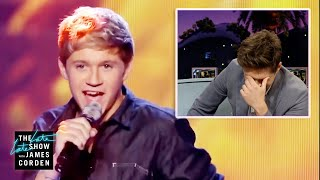 Niall Horan Watches One Direction's First 'X-Factor' Performance