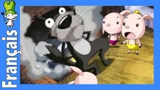 Les trois petits cochons | Contes Pour Enfants (FR.BedtimeStory.TV)