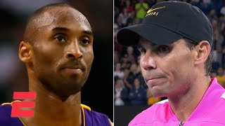 Rafael Nadal: Kobe Bryant will be in our hearts forever   2020 Australian Open