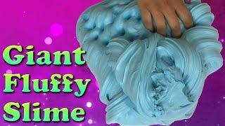 DIY Giant Fluffy Slime