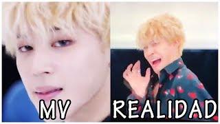 [Sub español] BTS Videos Musicales VS Realidad #3