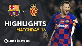 Highlights FC Barcelona vs RCD Mallorca (5-2)