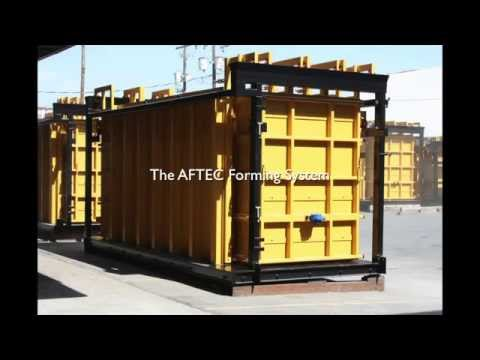 Precast Wall Forms- the AFTEC Advantage- Aftec Advanced Forming Technology