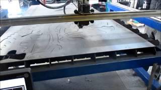 Plasma Cutting a T-Rex Puzzle