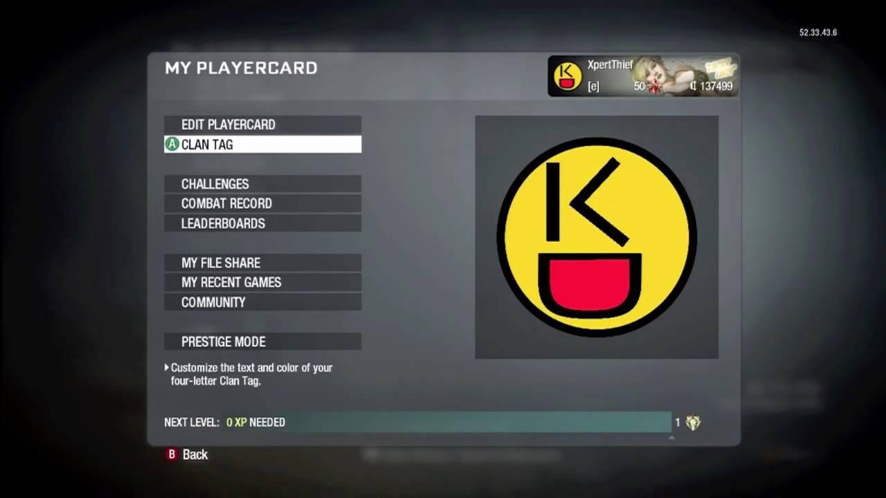 Call of Duty: Black Ops Emblem Tutorial: iSekC Logo - YouTube