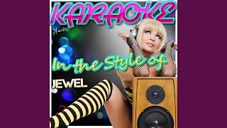 Jupiter (Swallow the Moon) (In the Style of Jewel) (Karaoke Version)