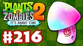 Plants vs. Zombies 2: It's About Time - Gameplay Walkthrough Part 216 - Boosted Hypno-Shroom! (iOS)