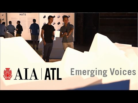 2014 Emerging Voices - AIA Atlanta Young Architects Forum