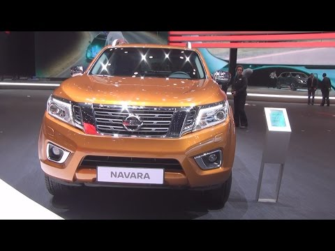 Nissan NP300 Navara (2016) Exterior and Interior in 3D