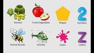 Let's Play • Preschool kids learning • Preschool toys, Preschool learning, videos, Games for Kids