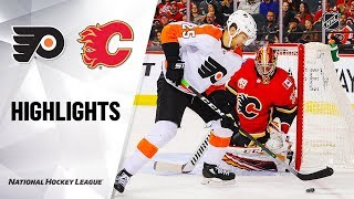 Flyers @ Flames 10/15/19 Highlights