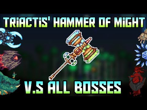 Triactis Hammer Of Might Vs All Bosses 5000 Subscriber Special Terraria Calamity Mod 12 g5yIl2KSYYqTd5w on oscar oasis moon