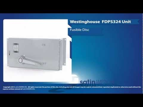 Westinghouse FDPS325 Fusible Disconnect Switch