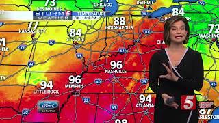 Bree's Evening Forecast: Fri., Sept. 13, 2019