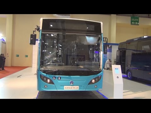 Temsa Avenue LF Bus (2016) Exterior and Interior in 3D