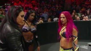 Sasha Banks vs. Becky Lynch (Sasha Banks 'Face Turn') February 1, 2016