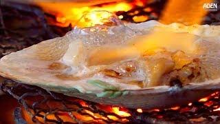 Japanese Street Food: Sea Urchin & Scallops BBQ JAPAN