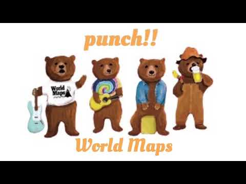 World Maps-punch!!