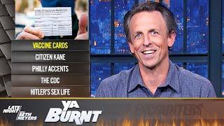 YaBurnt: COVID Vaccine Cards, the CDC