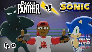Black Panther Vs Sonic - Cartoon Beatbox Battles