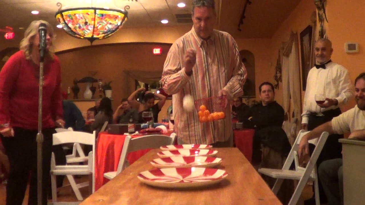 2012 Christmas Party Quot Minute To Win It Quot Games Youtube