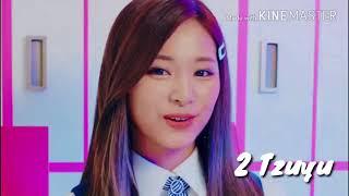 Top 3 Most Beautiful Twice Members İn All MV