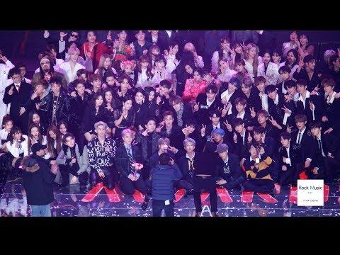 방탄소년단 (BTS) Ending 앵콜 IDOL + 단체기념사진[4K 60P 직캠]@190115