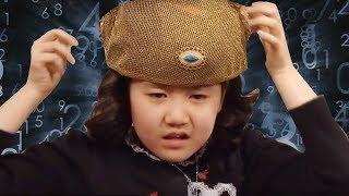 """Heri làm toán dễ như """"húp nước miếng"""" nhưng cũng bị ngu người khi đội chiếc nón kì lạ này"""