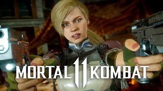 Mortal Kombat 11 - Official Cassie Cage & Kano Character Reveal Trailer