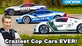 The craziest police cars in the world!