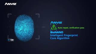 ANVIZ P7 PoE-Touch Fingerprint and RFID Access Control