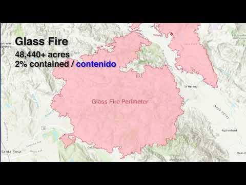 Glass Fire Evacuation Map Update - 9/30/2020