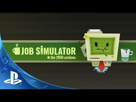 Job Simulator: The 2050 Archives Trailer