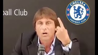 'I hope they get RELEGATED!' - Antonio Conte reacts furiously to Chelsea sacking*