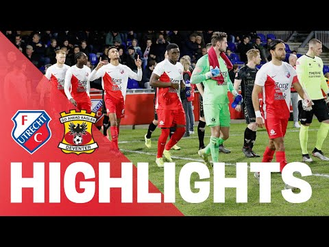 HIGHLIGHTS | Jong FC Utrecht - Go Ahead Eagles