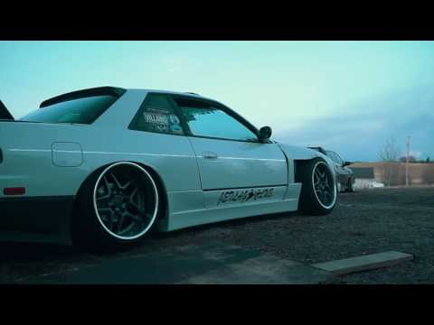 Crazy LOW static S13 240sx