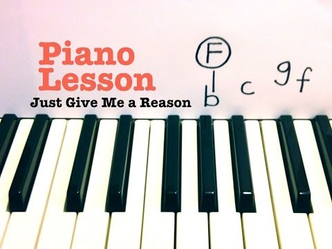 Baixar Just Give Me a Reason- Piano Lesson- Pink ft Nate Ruess (Todd Downing)