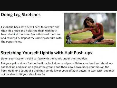 Simple Back Pain Exercises for Therapeutic Healing Plainfield IL