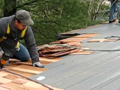 Portland Cedar Shake Roof Installation Part 2 Roof Life