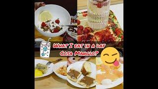 WHAT I EAT IN A DAY ! - COSA MANGIO IN UN GlORNO☕️🍔🍊