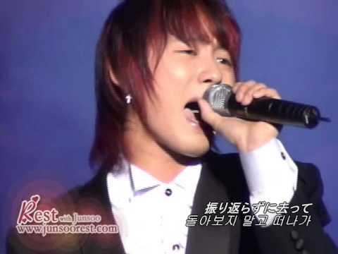 시아준수 20살때 부른 체념 LIVE (2005) - XIA JUNSU