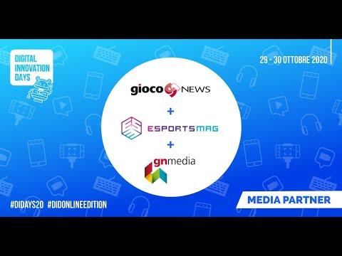 Gn Media e GiocoNews partner dell'edizione di successo del DiDAYS Italy 2020