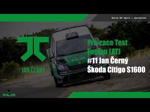Pre-race Test - Fuglau - JAN ČERNÝ - ŠKODA CITIGO S1600