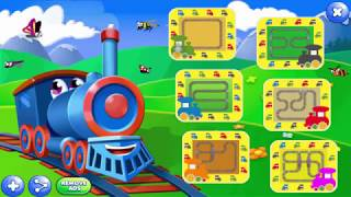 Train For Kids | Subway Train Games For Kids | Best game for kids
