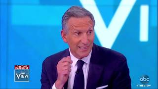 Howard Schultz on why he wouldn't run as a Democrat for president   The View