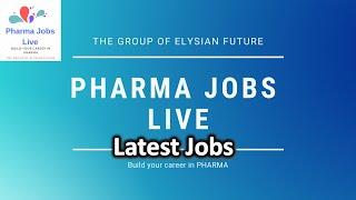 Pharma Jobs Live - Jobs for Pharma & Life Science Guys