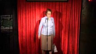 Hildegart Scholten im Comedy Punch Club