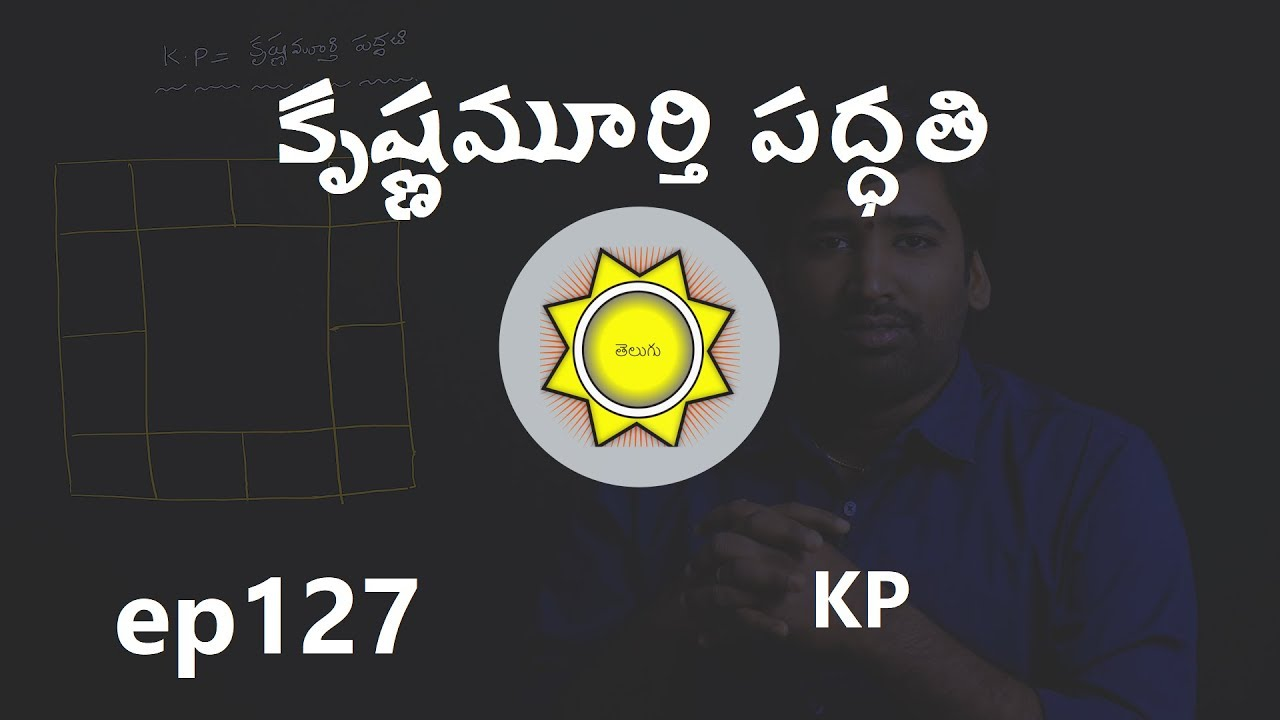 Learn KP Astrology in Telugu | KP Basics | Sub Lord, Significators, Ruling  Planets | ep127
